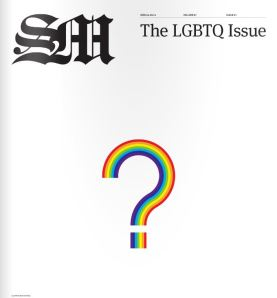 Copy of the LGBT issue of The Student Movement, the Andrews University Newspaper