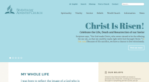 This is from the front page of the Seventh Day Adventist website, affirming an Easter story celebrated by billions of Christians. What is more likely, that a man rose from the dead as a god, or that billions of people just like that story?