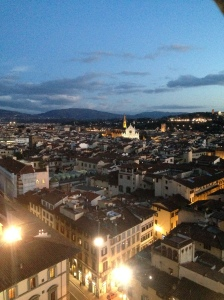 Florence, from the roof of the Duomo